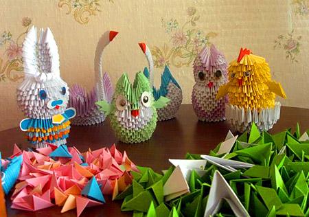 Техника модульного оригами
